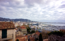 View from atop the Musee de la Castre
